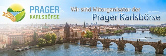 KS Agrar ist Mitveranstalter der Prager Karlsbörse